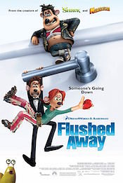 flushed away box office