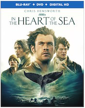 in the heart of the sea blu-ray