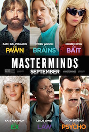 masterminds box office